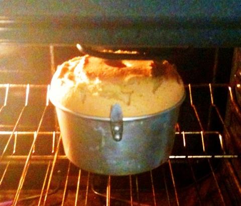 ジャスミンティーのケーキ