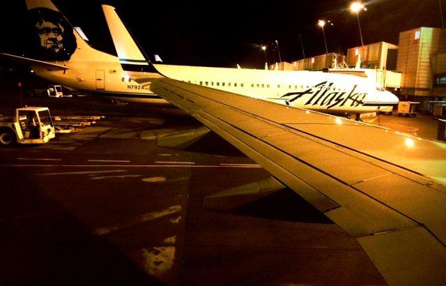 シアトルに着陸!
