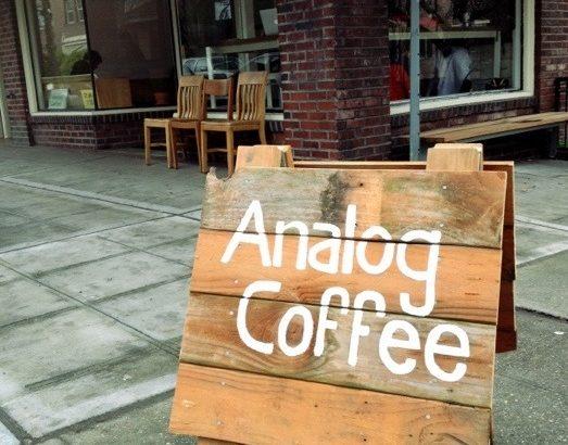 アナログコーヒー?