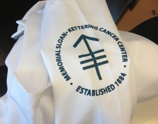 ロゴ入り白衣