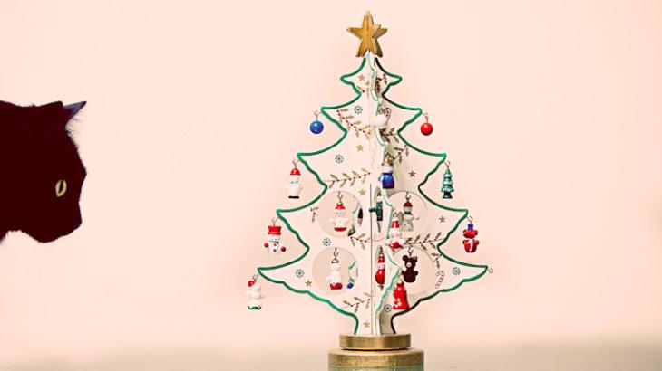 クリスマスツリー、飾りましたか?